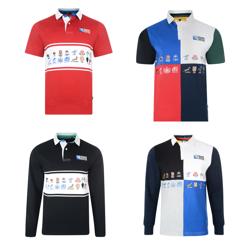 913332e3027 Men's Rugby World Cup 2015 20 Nations Rugby Jersey Shirts | eBay