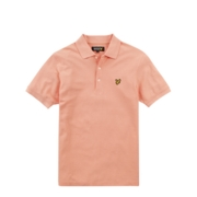 Lyle & Scott Polo Shirts Plain Pique - Rose