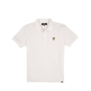Lyle & Scott Polo Shirts 140 Plain Polo - White