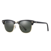 Ray-Ban Rb3016 Clubmaster Ebony-Arista/ Crystal Green