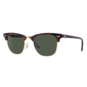 Ray-Ban Rb3016 Clubmaster Tortoise-Arista / Green Classic G-15