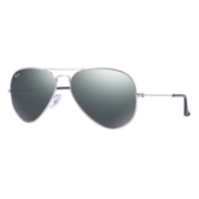 Ray-Ban Rb3025 Aviator Silver / Crystal Grey Mirror