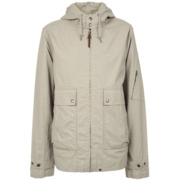 Pretty Green Wren Jacket Wax Coated - Stone