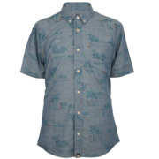 Pretty Green Shirts SS Maratty - Blue