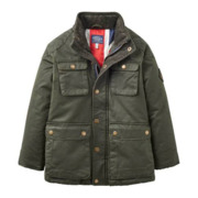 Joules Barnham Jacket - Kids Evergreen