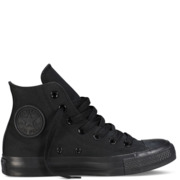 Converse CT All Star Hi Canvas - Black Monochrome