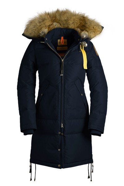 Brandshop - Parajumpers Long Bear Down Coat Navy.