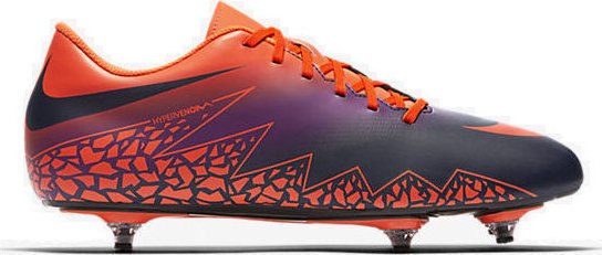 cheap for discount 82853 7bb4a Nike HyperVenom Phade II (SG) Total Crimson/Obsidian-Vivid Purple