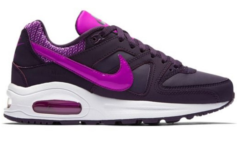 pretty nice 6b543 562e0 ... clearance brandshop nike air max command flex leather gs purple hyper  violet white. c4f5d f7001