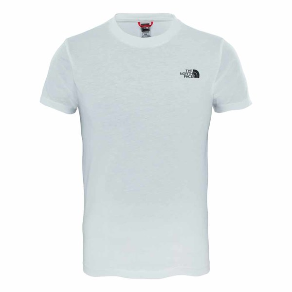 122e2307e244 Brandshop - The North Face Junior Simple Dome T-Shirt White